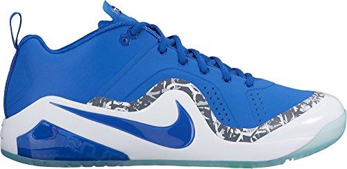 Nike Mens Kraft Zoom Öring 4 Turf Baseball Tränare Oss) Blå / Vit