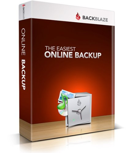 Backblaze Online Backup - 1 Year Subscription