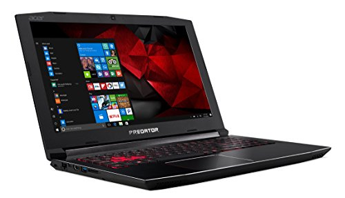 "Acer Predator Helios 300 PH315-51-53MZ - Ordenador portátil DE 15.6"" Full HD (Intel Core i5-8300H, 8 GB RAM, 1000 GB HDD, Nvidia GeForce GTX 1060, Windows 10) Negro - Teclado QWERTY Español 5"
