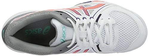 Women's White Purple 901 Gel Task Parachute Flash Volleyball Asics White Shoes Coral vqRXdnO