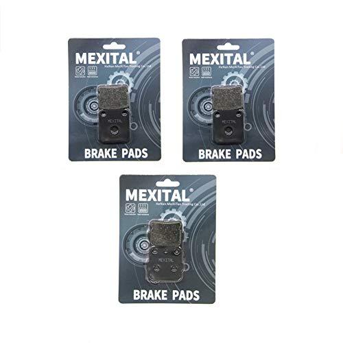 MEXITAL motorfiets remblokken voor MXB54-54-84 voor + achter.