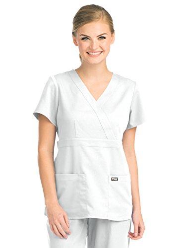 Grey's Anatomy Womens Scrubs, White, Medium by Barco