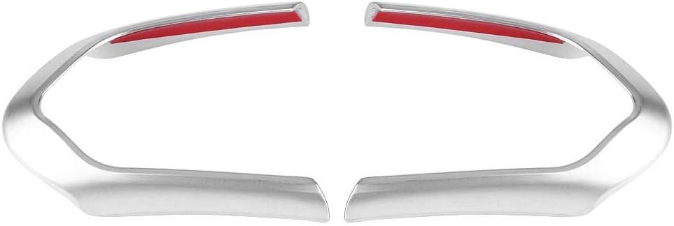 Carbon Fiber 2Pcs Keenso Steering Wheel Cover Decoration Trim Frame Chrome//Carbon Fiber Optional for BMW F20 F22 F30 F32 F10 F06 F15 F16