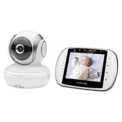 Motorola MBP33XL 2.4 GHz FHSS Digital Video Color Screen Baby Monitor