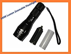 Ultrafire 1000 LM WF-502B CREE XM-L T6 5-Mode LED Flashlight from Spring Digi Center