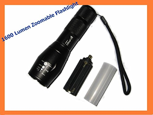 UltraFire CREE Flashlight Zoomable Torch product image