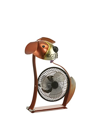 Chantilly Collection (Deco Breeze DBF6167 Portable Collection Dog USB Fan)