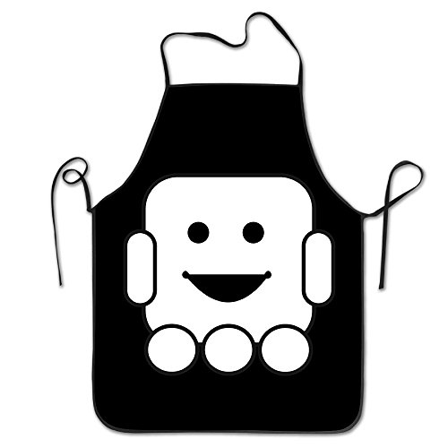 Novelty Cute Robot Cliparts Unisex Kitchen Chef Apron - Chef Apron For Cooking,Baking,Crafting,Gardening And - Robots Clipart