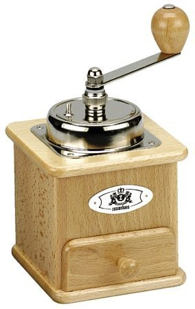 Zassenhaus Beech Wood Closed-Hopper Coffee Mill - Model 151BU by Zassenhaus
