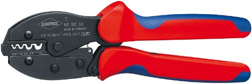 - KNIPEX 97 52 33 4-Position Contact Crimping Pliers