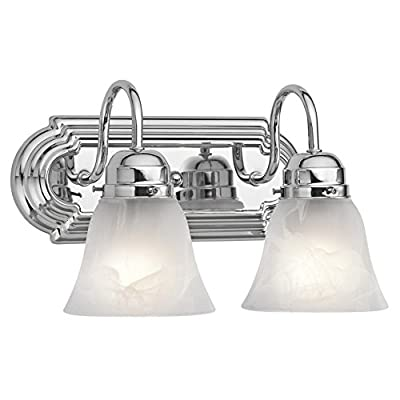 Kichler 5339TZ, Bath and Vanity Wall Vanity Lighting, 5 Light, 500 Watts, Tannery Bronze