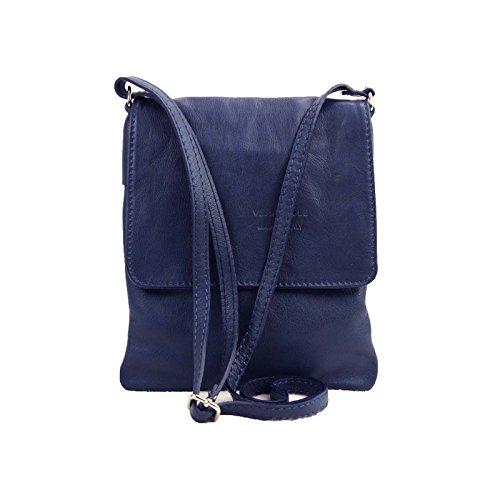 BxH pour Italy cm à l'épaule Navi porter Sac Bleu à Made 18x22 femme wBgqq
