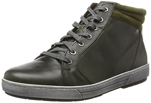 Ganter Helena-h, Women's Hi-Top Slippers Grün (Smaragd/Forest)