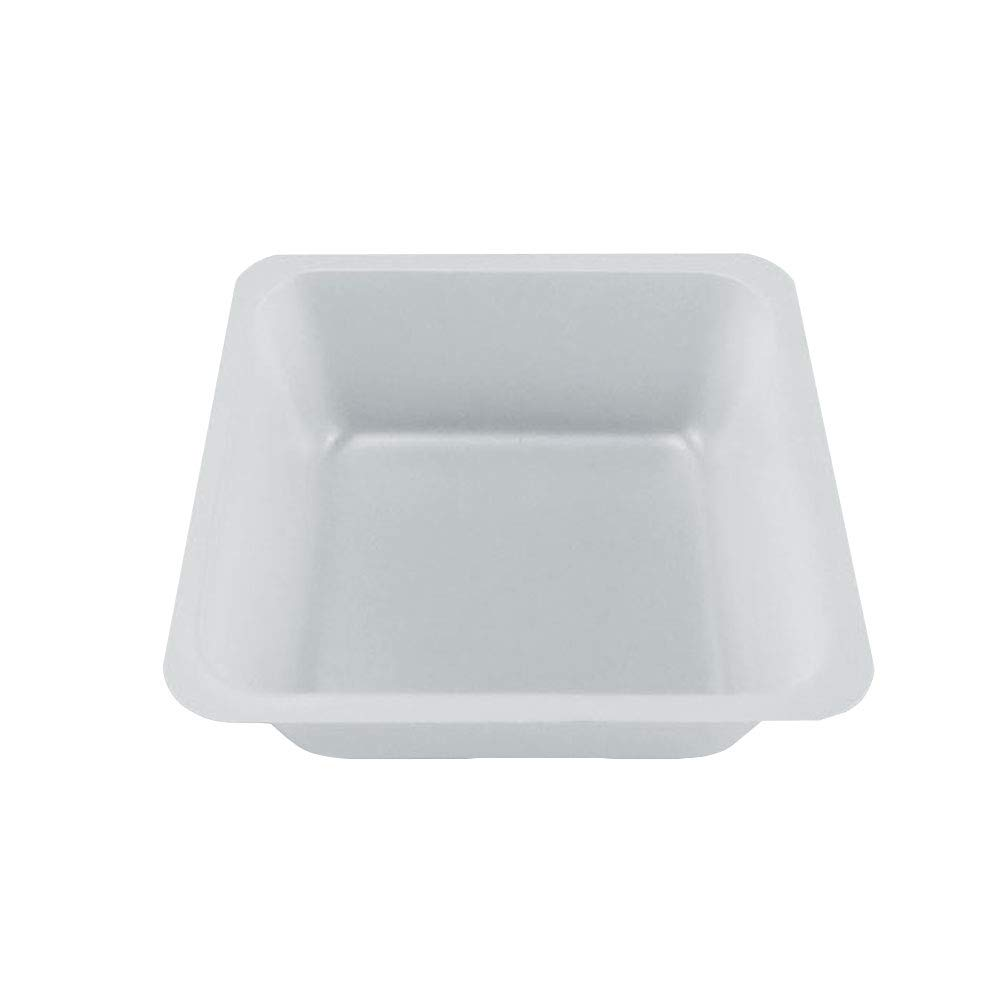 Lab Weighing Dish, Plastic, 110ml, 80 mm L x 80 mm W x 25 mm D, White (Pack of 100) by Adamas-Beta