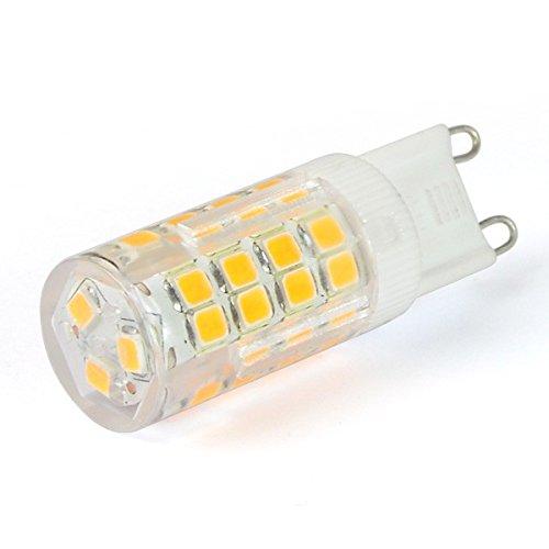 ledhive 4 W G9 LED bombilla - luz blanca - 370 lm muy brillante - equivalente a 40 W: Amazon.es: Hogar
