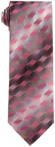 Van Heusen Men's 3d Geo Necktie, Rose, One Size ()