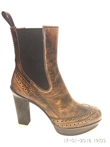 Santoni Zapatos de vestir de Piel para mujer Marrón marrón
