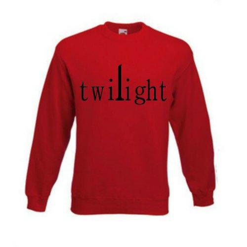 Twilight Series Sweatshirt (Large, Red)