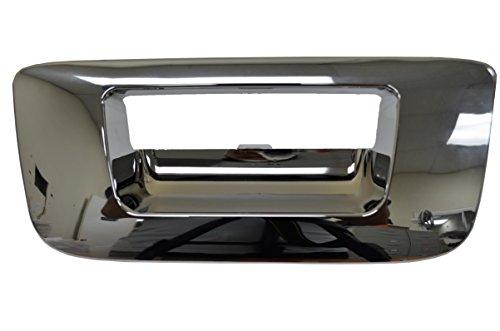 PT Auto Warehouse GM-3547M-BZK - Tailgate Handle Bezel/Trim, Chrome finish - without Keyhole