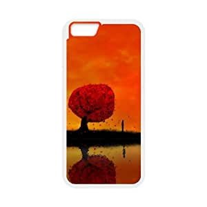 autumnreflection13140246 iPhone 6 4.7 Inch Cell Phone Case White yyfD-331396