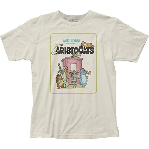 (Impact Merchandising The Aristocats Fitted Jersey tee (Medium))