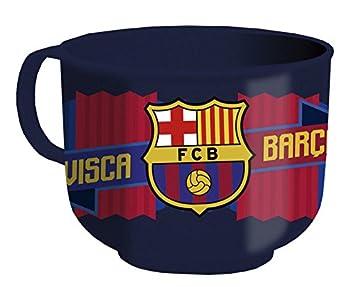 CYP Imports TZ-01-BC Tazón Desayuno plástico 60 Cl, diseño Futbol Club Barcelona, 0, 0, 0 Inches: Amazon.es: Hogar
