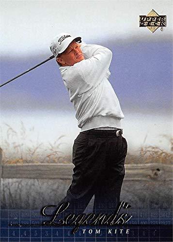 Tom Kite golf card (Golfer PGA, Hall of Famer) 2001 Upper Deck Legends #57 ()