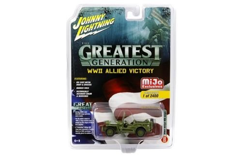 Johnny Lightning 1:64 The Greatest Generation WWII Allied Vi