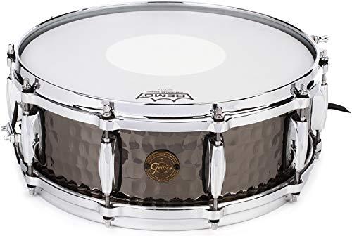 - Gretsch Drums Hammered Black Steel Snare Drum - 5