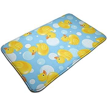 Amazon Com Yellow Rubber Duck Large Doormat Neoprene