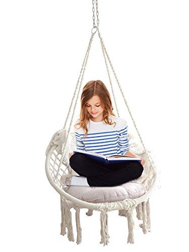 Feiren Outdoor Livingroom hanging Macrame Chairs Hammocks Ch