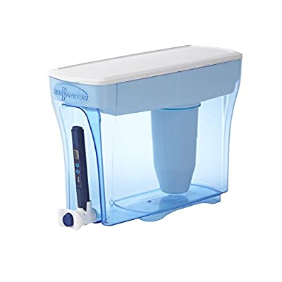 ZeroWater ZD-018 ZD018, 23 Cup Water Filter Pitcher with Water Quality Meter