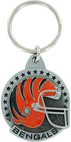 Siskiyou Cincinnati Bengals Pewter Helmet Round (Cincinnati Bengals Ultimate Fan Helmet)