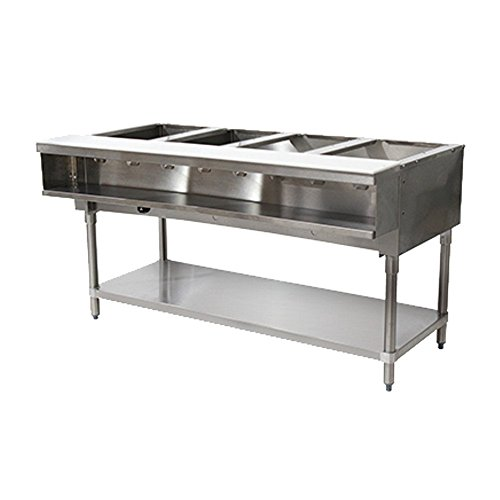 Advance Tabco WB-4G-NAT Natural Gas Water Bath Hot Food Table