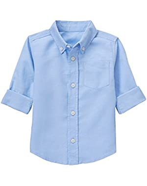 Baby Toddler Boys' Linen Woven Shirt