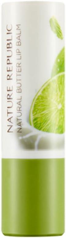 Nature Republic Butter Lip Balm (05 Lime Mint)