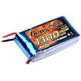 Gens ace LiPo Battery Pack 1300mAh 7.4V 25C 2S for RC Car RC Helicopter RC Airplane RC Hobby RC Boat RC Truck