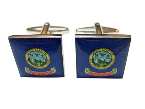 - Idaho State Flag Cufflinks