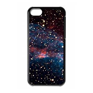 iPhone 5c Cell Phone Case Black the outer space XFJ