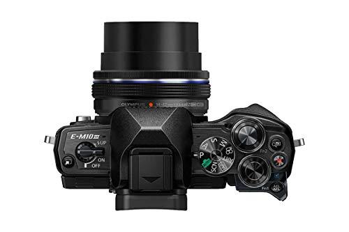 Olympus OM-D E-M10 Mark III Mirrorless Micro Four Thirds Digital Camera with 14-42mm EZ Lens & 16GB SDHC Card (Black… 5