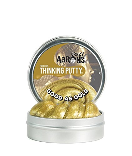 Crazy Aarons Thinking Putty  1 6 Ounce  Precious Metals Good As Gold