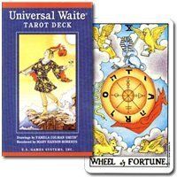 Wait Universal Tarot Deck - Tarot Cards Rider Edition Brilliant T0104]