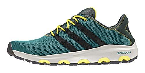 adidas Climacool Voyager, Zapatillas de Deporte Unisex Adultos, Multicolor, 7 UK Verde / Negro (Eqtver / Negbas / Verpal)