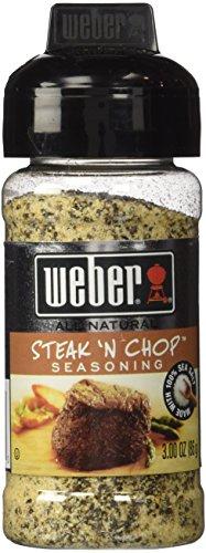 Weber Steak 'N Chop Seasoning, 3.00 Ounces, Pack of 2