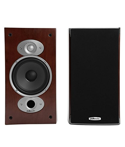 Polk Audio RTI A3 Bookshelf Speakers (Pair, Cherry)