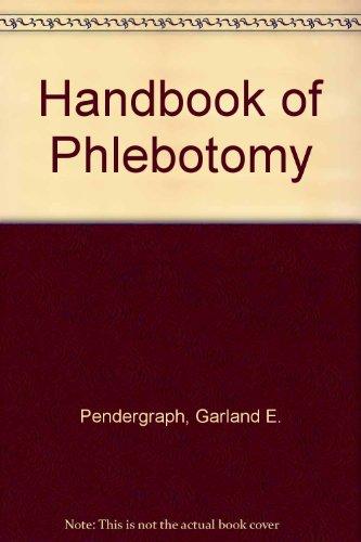 Handbook of Phlebotomy
