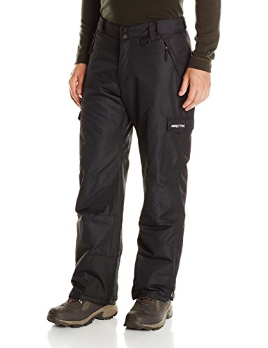 Arctix Men's 1960 Snow Sports Cargo Pants, Large, Black (Pants Snowboard Black)