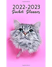 2022-23 Cats 2-Year Pocket Planner: 2022-2023 Two Year Pocket Planner Monthly Calendar For Purse | January 2022 - December 2023