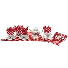 Schylling Ladybug Tea Set Basket