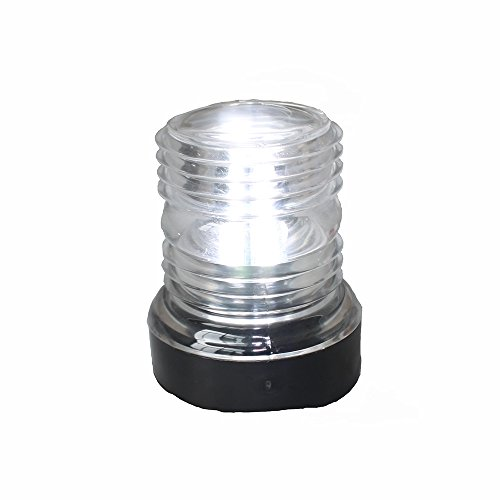 X-Haibei Marine Boat Yacht Navigation Anchor Lights All Round 360° White LED 12V